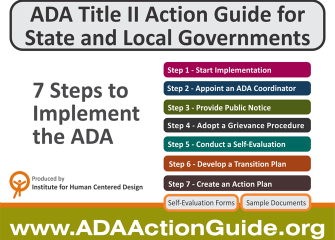 ADA Title II Action Guide for State and Local Governments. ADAActionGuide.org