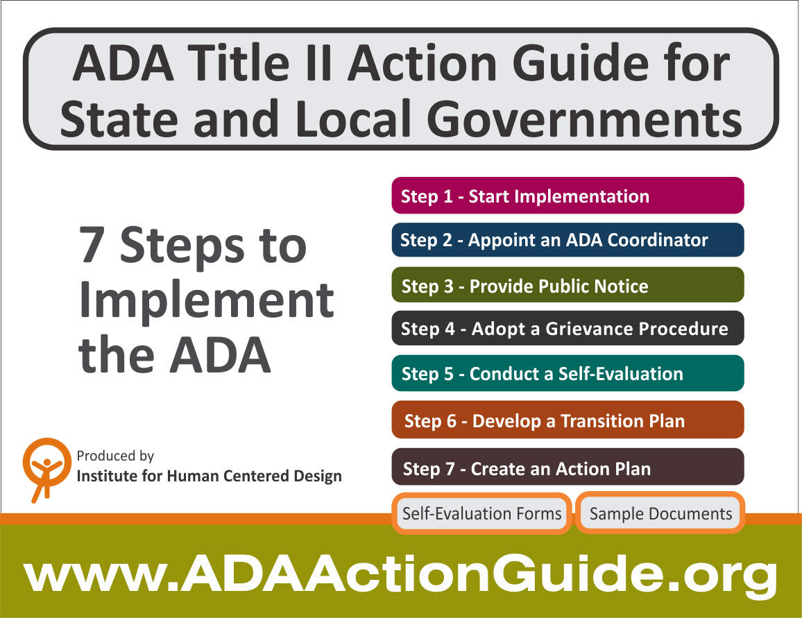 ADA Title II Action Guide for State and Local Governments