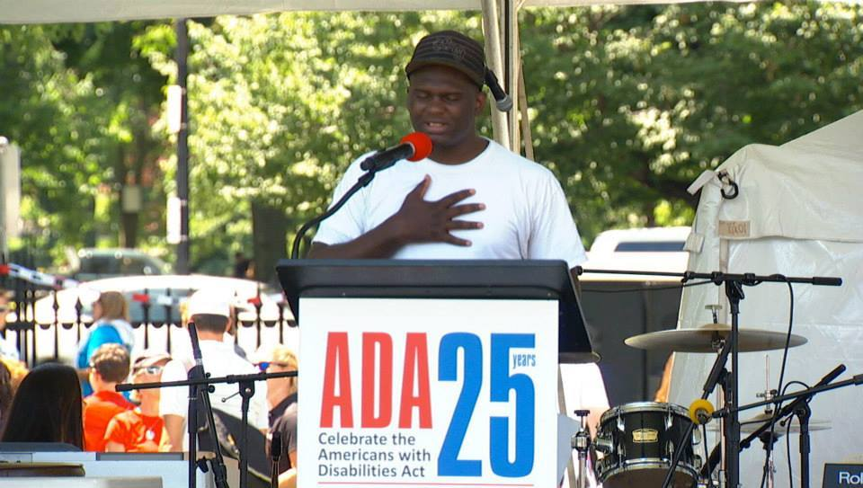 Poet Lewis Morris shares a celebratory ADA 25th anniversary poem