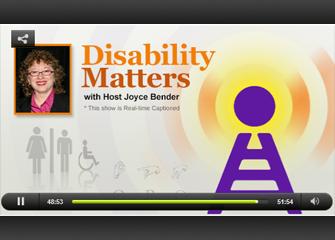 Disability matter episode player