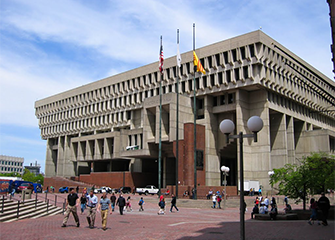 Boston City Hall Plaza