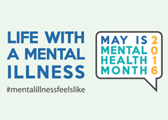 Life with a mental illness #MentalIllnessFeelsLike, May is Mental Health Awareness Month